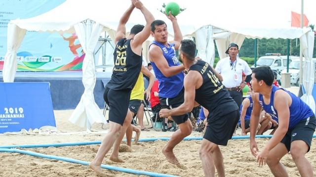 ชายหาดไทยฟอร์มแรง มีลุ้นแชมป์โอเพ่นซีเกมส์